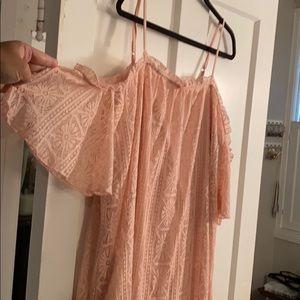 Francescas cold shoulder dress